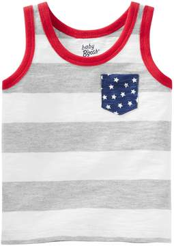 Osh Kosh Oshkosh Bgosh Baby Boy Slubbed Stars & Stripes Tank Top