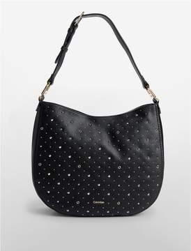 Calvin Klein embellished hobo bag