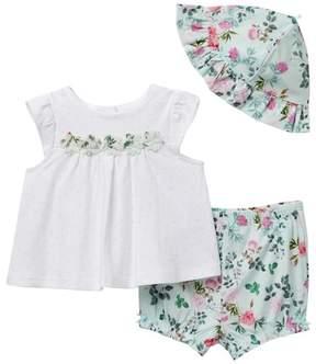 Little Me Flower 3-Piece Set (Baby Girls)