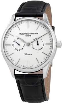 Frederique Constant Classics Quartz Silver Dial Day/Date Men's Watch