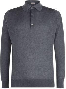John Smedley Lanlay Cashmere Blend Polo Shirt