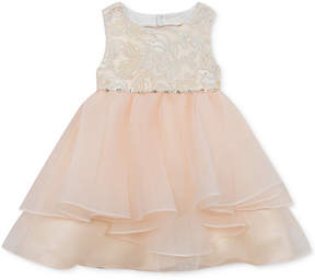 Rare Editions Baby Girls Embellished Organza Dress