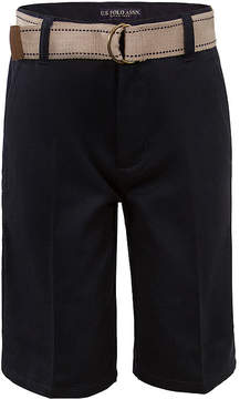 U.S. Polo Assn. USPA Belted Shorts - Boys 8-16