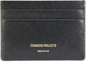 Common Projects logo stamp cardholder