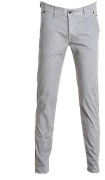 Roy Rogers Roy Roger's Men's Grey Cotton Pants.