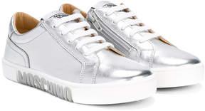 Moschino Kids logo sole sneakers