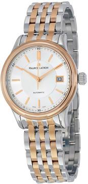 Maurice Lacroix Les Classiques Silver Dial Men's Automatic Two-tone Steel Watch