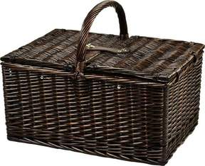 Picnic at Ascot Buckingham Basket for Four with Blanket and Coffee