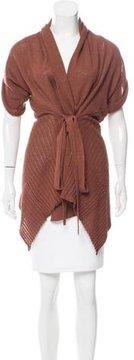 Jean Paul Gaultier Linen Asymmetrical Cardigan