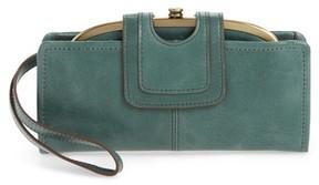 Hobo Women's Nova Calfskin Leather Wallet - Green