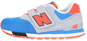 New Balance 574 Suede & Mesh Sneakers