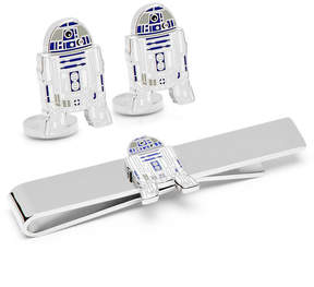Star Wars STARWARS R2D2 Cuff Links and Tie Bar Gift Set