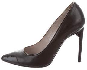 Jason Wu Leather Cap-Toe Pumps