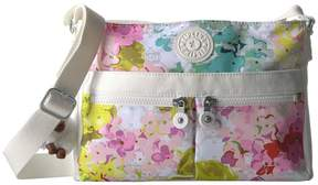 Kipling Angie Handbags - LUSCIOUS FLOWER WHITE - STYLE