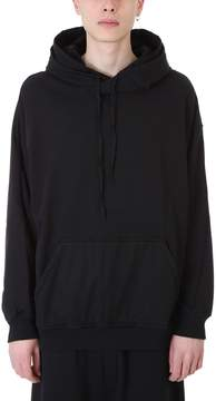 Damir Doma Werty Black Cotton Hoodie
