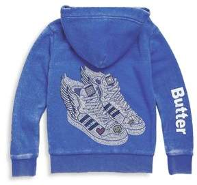 Butter Shoes Girl's Burnout Hoodie