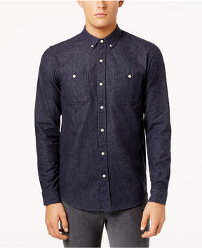 Ezekiel Men's Button-Down Chambray Shirt