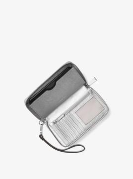 MICHAEL Michael Kors Jet Set Iridescent Leather Smartphone Wristlet