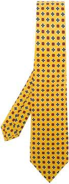 Kiton micro printed tie