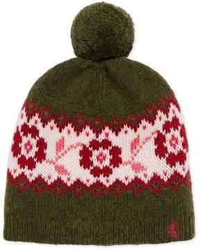 Petit Bateau Girl's pompom cap