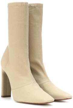 Yeezy Stretch canvas ankle boots (SEASON 6)