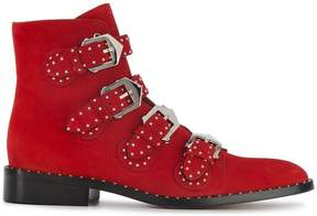 Givenchy Elegant Line studded suede ankle boots