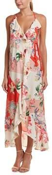 Flying Tomato Wrap Maxi Dress.