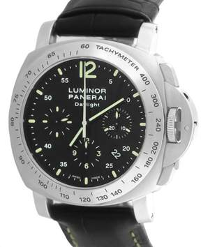 Panerai Luminor PAM00250 Stainless Steel with Black Dial 44mm Mens Watch