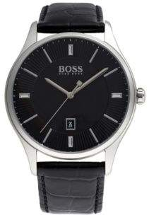 BOSS Hugo Govenor Casual Sport, Leather Strap Watch 1513520 One Size Assorted-Pre-Pack