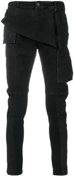 Rick Owens skinny biker jeans