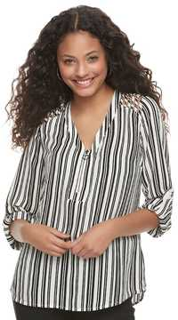 Candies Candie's Juniors' Candie's® Strappy Shoulder Long Sleeve Top