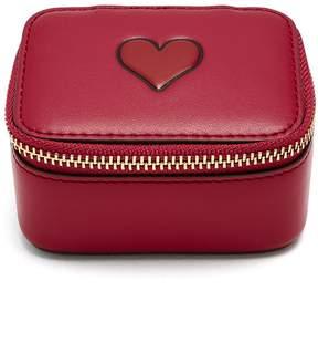 Anya Hindmarch Keepsake Heart leather box