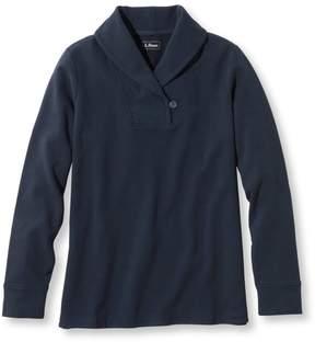 L.L. Bean L.L.Bean Ultrasoft Sweats, Shawl Collar Pullover