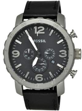 Fossil Nate TI1005 Black Dial Watch