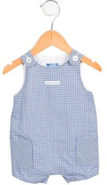 Jacadi Boys' Gingham All-In-One w/ Tags