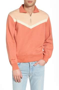 Levi's Vintage Clothing Colorblocked Quarter Zip Pullover