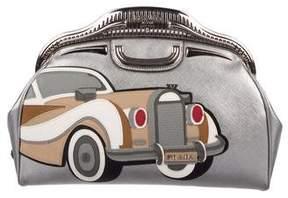 Prada Saffiano 50s Car Clutch