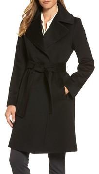 Fleurette Women's Wool Wrap Coat