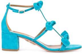 Aquazzura bow detail sandals