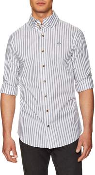Vivienne Westwood Men's Striped Sportshirt