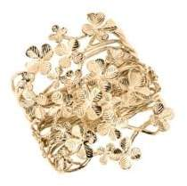 Aurelie Bidermann Tamar Clover Cuff Bracelet