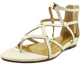 Thalia Sodi Pam Open Toe Synthetic Gladiator Sandal.