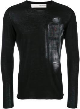 Isabel Benenato printed sweater