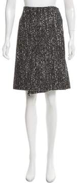 Calvin Klein Collection Mélange Wrap Skirt w/ Tags