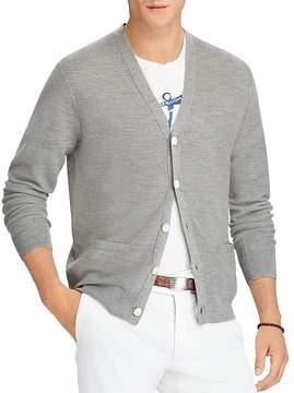 Polo Ralph Lauren Merino-Silk-Cashmere Cardigan Sweater
