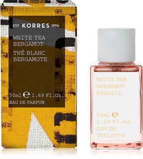 Korres White Tea Bergamot Freesia Eau de Toilette, 1.7-oz.