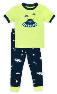 Petit Lem Little Boy's Outer-Space Themed Pajama Set