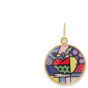 Alex and Ani NY State Art Infusion Necklace Charm | Romero Britto