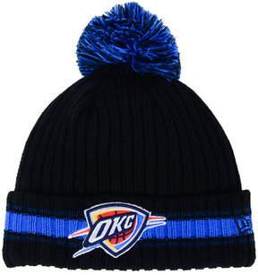 New Era Oklahoma City Thunder Basic Chunky Pom Knit Hat