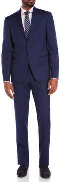 DKNY Navy Wool Suit Jacket & Pants